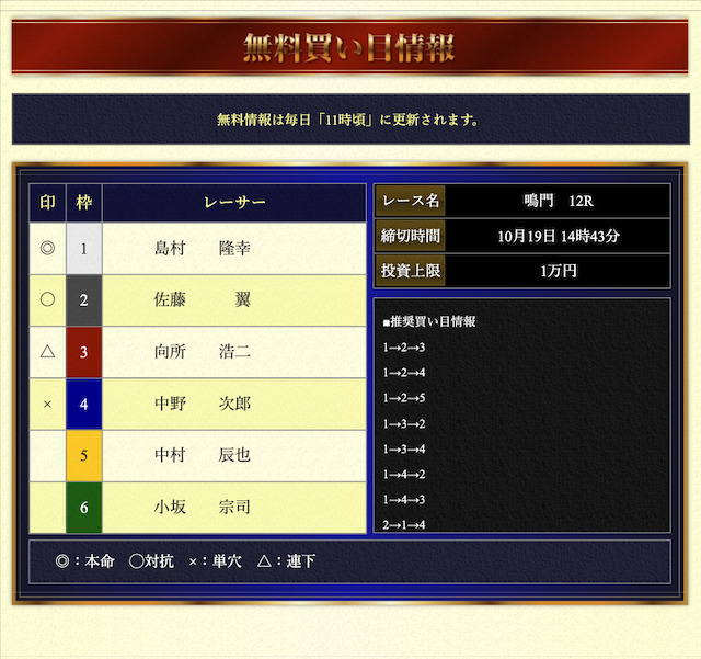 VMAX無料予想21/10/19