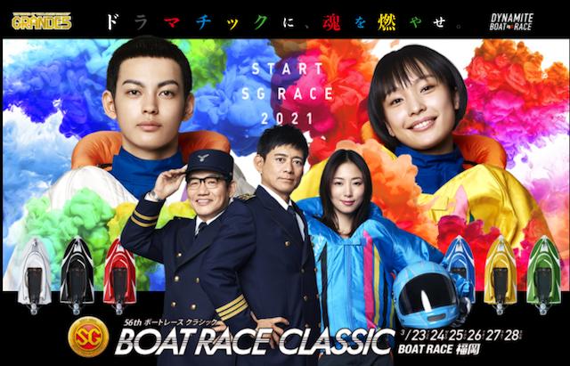 ボートレースクラシック2021のTOP画像