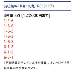 PITの無料予想21/07/19