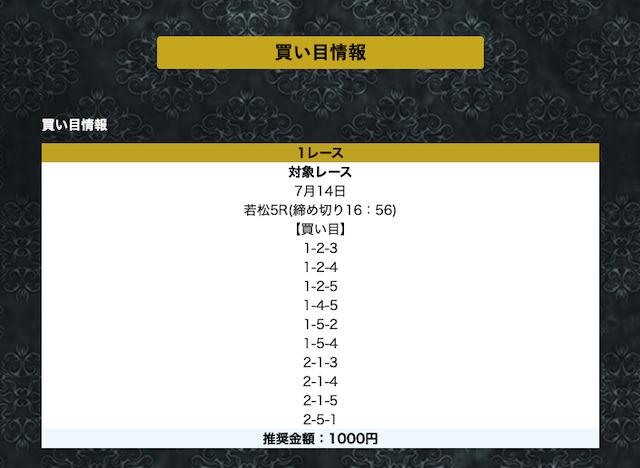 競艇神舟の無料予想21/07/14
