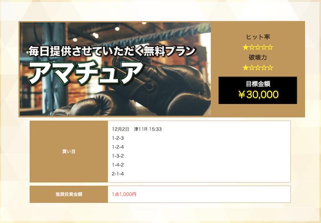 チャンピオンの無料予想20/12/02